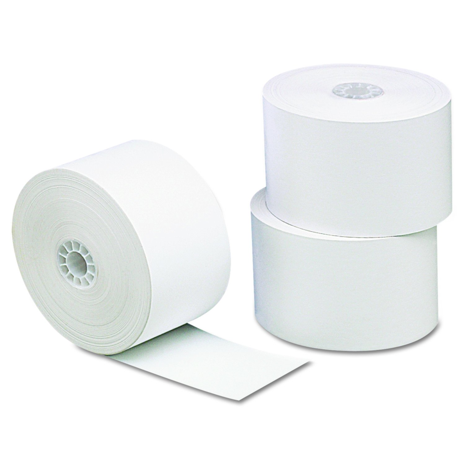 Universal 35711 Single-Ply Thermal Paper Rolls, 1 3/4 x 230 ft, White (Pack of 10)
