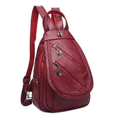 best Qurry One New Version Women Fashion Soft Pu Leather Small Backpack