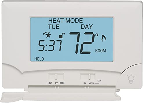 TX100E 7 or 5-2 Day Programmable Thermostat