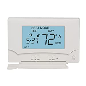 Lux TX9000TS Touch Screen Seven-Day Programmable Thermostat