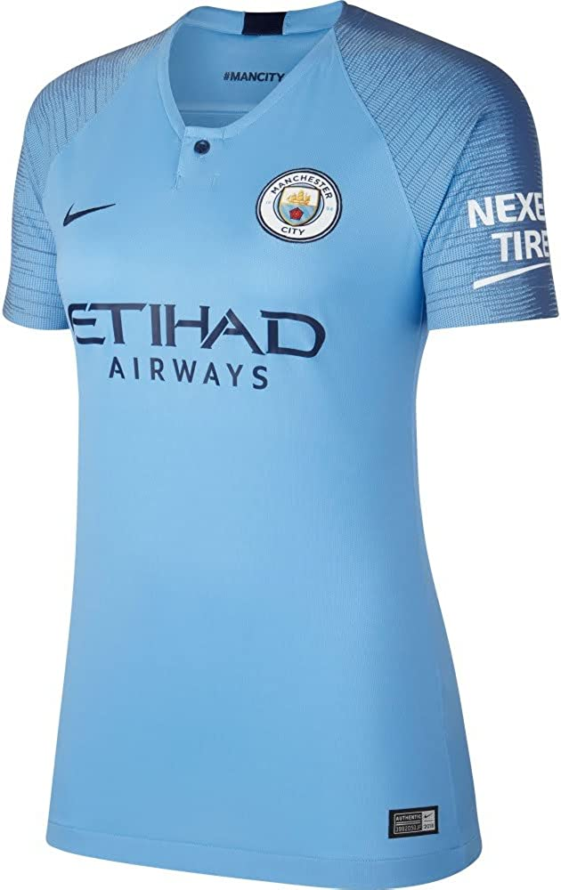 Nike Manchester City FC Home Womens Jersey 2018/19