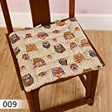 Chair Seat Cushions 2017 New Cotton Linen Square Throw Pillows...