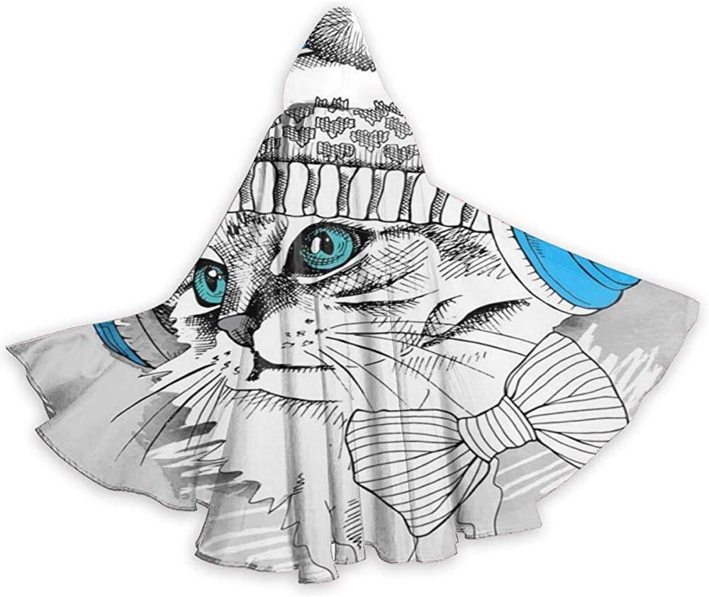 Mitta Yane Hooded Cape Disfraz Auriculares de Dibujos Animados ...