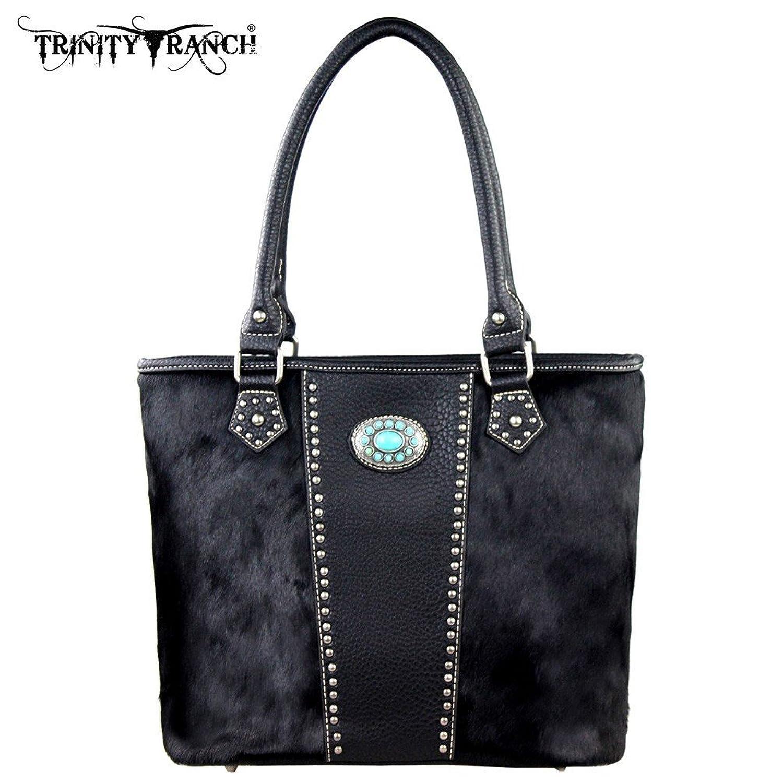 TR17-8317 Trinity Ranch Cowhide Collection Handbag