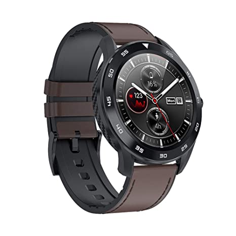 L&F Reloj Elegante Impermeable DT98 Hombres Mujeres SmartWatch de ...