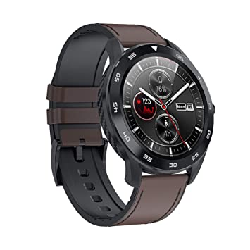 L&F Reloj Elegante Impermeable DT98 Hombres Mujeres ...