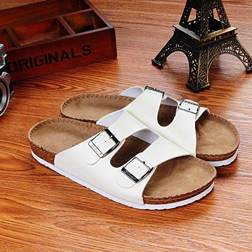 Uomo XING Pantofole Pantofole Pantofole Scarpe GUANG White Uomo Primavera White Tendenza Trascinare Di Da Ed Casuali Da Estate 39 Tendenze Sandali Coreane Da 44 Spiaggia rr7qw