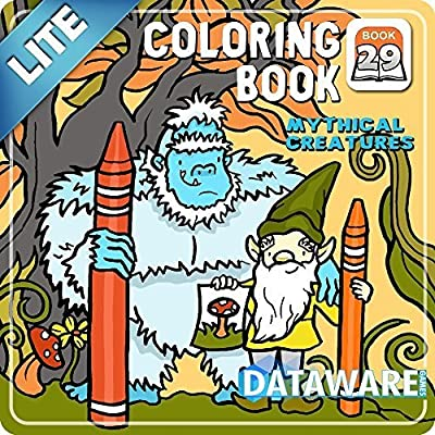 Coloring Book 29 Lite: Mythical Creatures [Download]
