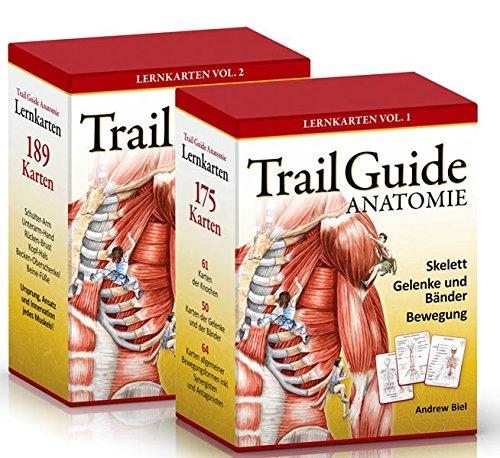 Trail Guide Anatomie: Lernkarten-Set Vol. 1 + Vol. 2: Amazon.de ...