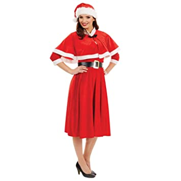 Fun Shack Roja Señorita Santa Disfraz para Mujeres - XXL: Amazon ...
