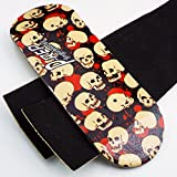 P-Rep SKULLS 34mm Wooden Fingerboard Deck