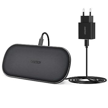 CHOETECH Cargador Inalámbrico Rápido Wireless Charger Qi