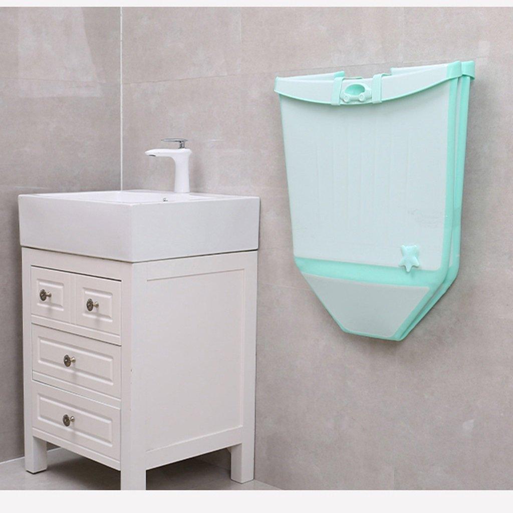 GAOYANG Foldable Baby Bath Extra Large Child Bath Bucket Bathtub for Children to Sit Baby Bath Bucket Bathtub (Color : Green) by GAOYANGyupen (Image #5)