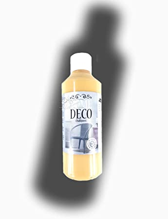 Home Deko Hobby Farbe 250ml Gelb, Senfgelb Vintage Deco Farbe 250 Ml Für  Holz Und