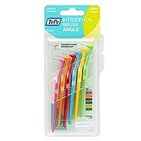 TEPE Angle Interdental Brushes Between Teeth – Braces Tooth Brush Cleaner 6 Pk,...