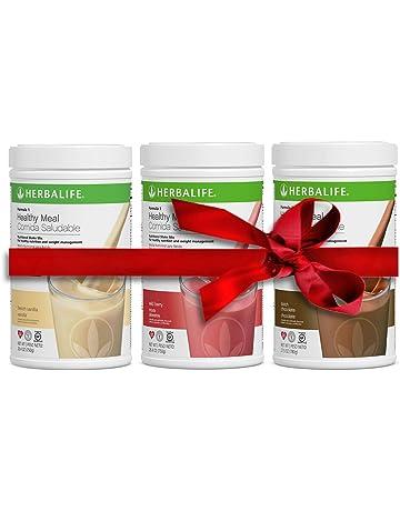 Pack de 3 batidos: vainilla + chocolate + fresa (550 gr cada uno)