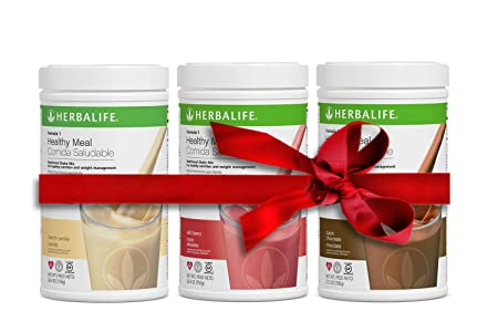 Herbalife Formula 1 Nutritional Shake Mix 750g 3 pack Combination, Buy 3 and Save PLEASE READ in the details what flavors and How To Order .