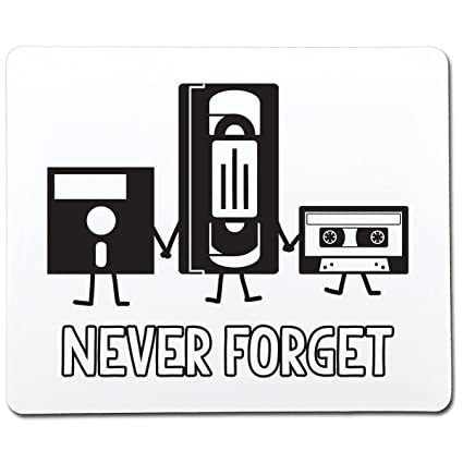 Amazon.com: Never Forget Funny Gag Gift Co-Worker Gift Novelty Mouse Pad Computer Accessory: MP3 Players & Accessories