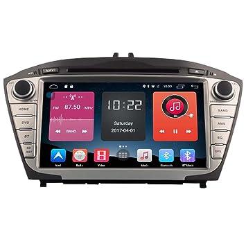 autosion en Dash Android 6.0 coche reproductor de DVD GPS Radio unidad principal GPS navegación estéreo