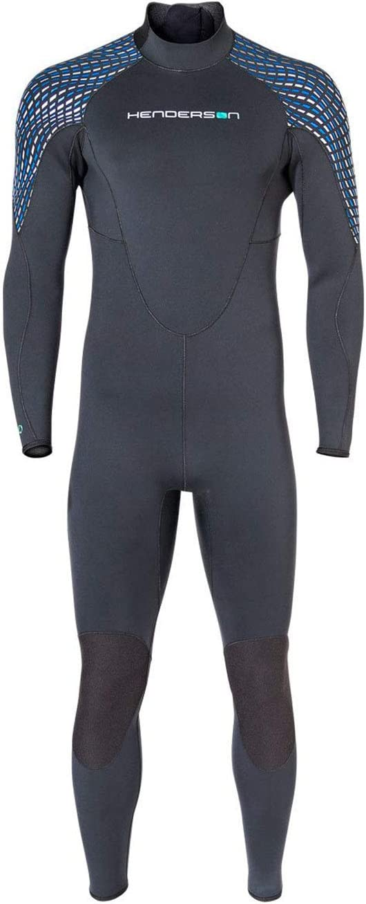Henderson Mens 3mm Greenprene Back Zip Full Wetsuit
