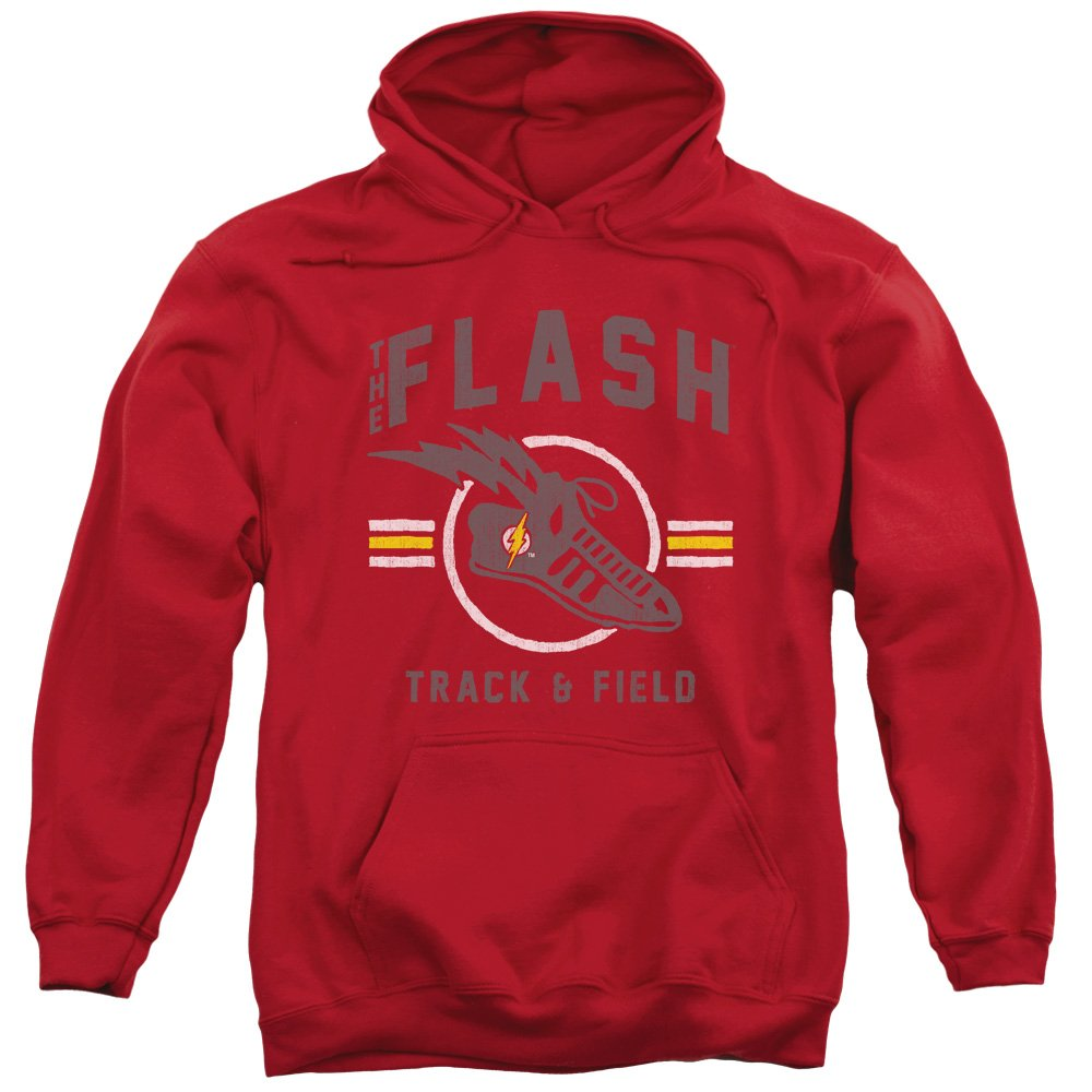 Justice League Mens Track and Field Pullover Hoodie