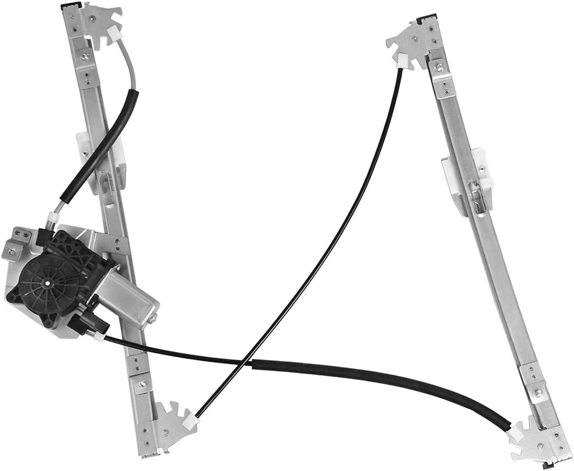 YITAMOTOR Front Driver Side Power Window Regulator w//Motor Compatible with 1999-2005 BMW 3-Series E46 323i 328i 325i 325xi 330i 330xi