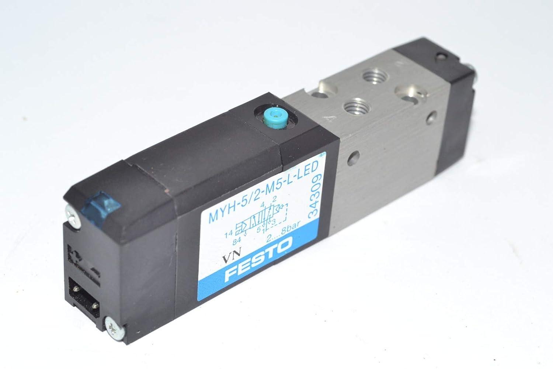 1PC NEW FESTO MYH-5//3G-2.3-L-LED 34305 Solenoid valve  #S1937 YT