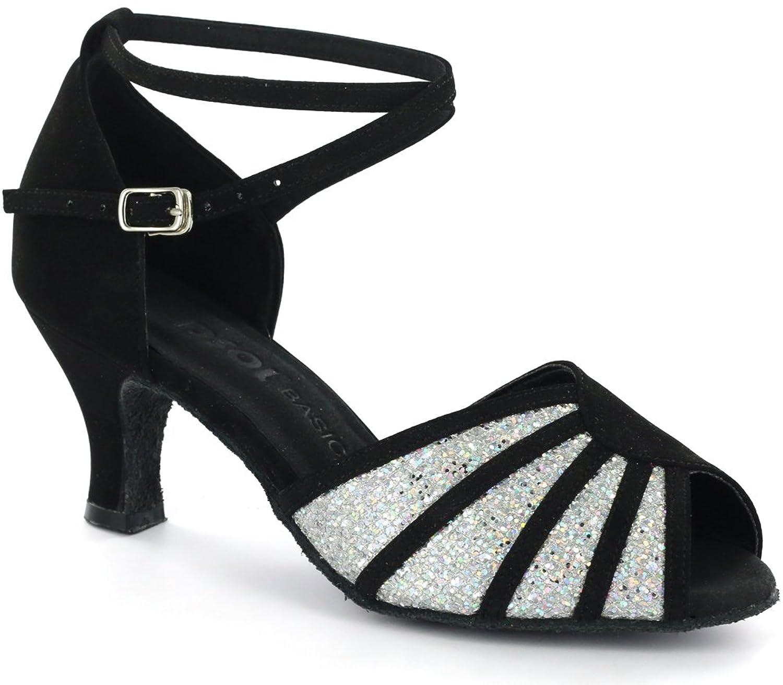 DSOL Women's Latin Dance Shoes D601801-1