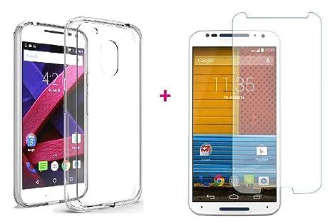 Karimobz Back Cover Motorola Moto g Plus  4th Generation + Free Tempered Glass Mobile Accessories
