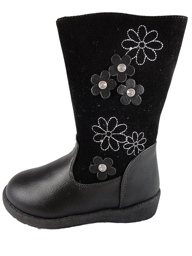Chatterbox Fleur, Mädchen Stiefel , schwarz schwarz