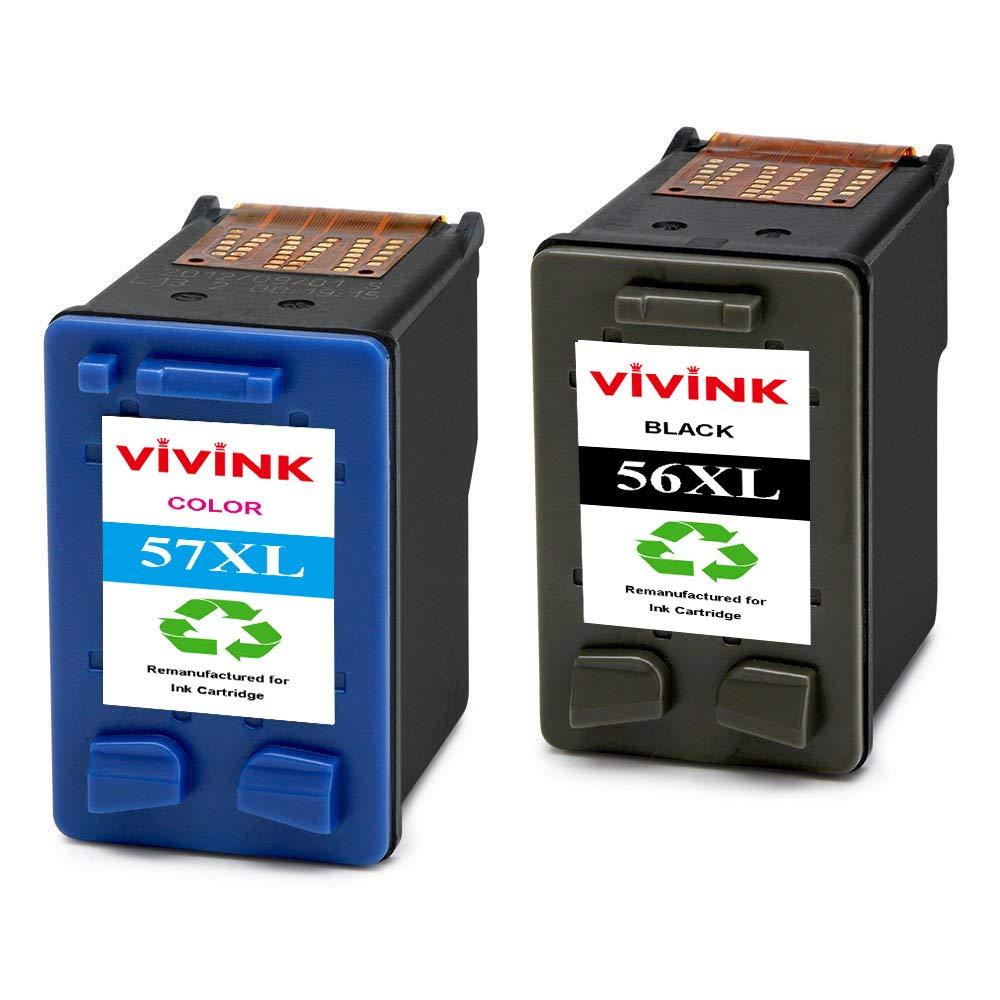 VIVINK - Cartuchos de Tinta reciclados HP 56 57 56XL 57XL ...