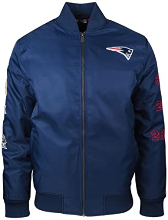 separation shoes 4b69d 6146e New Era - NFL New England Patriots 50 Super Bowl Bomber ...