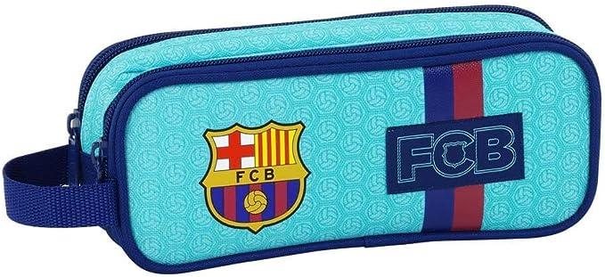 Safta Estuche F.C. Barcelona 2ª Equipacion 17/18 Oficial Escolar 210x60x80mm: Amazon.es: Ropa y accesorios