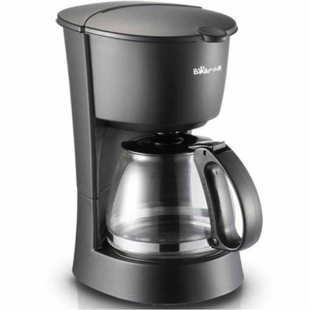 BEAR Coffee Maker Machine with Glass Carafe Fully-automatic Drip Coffee Maker 220V