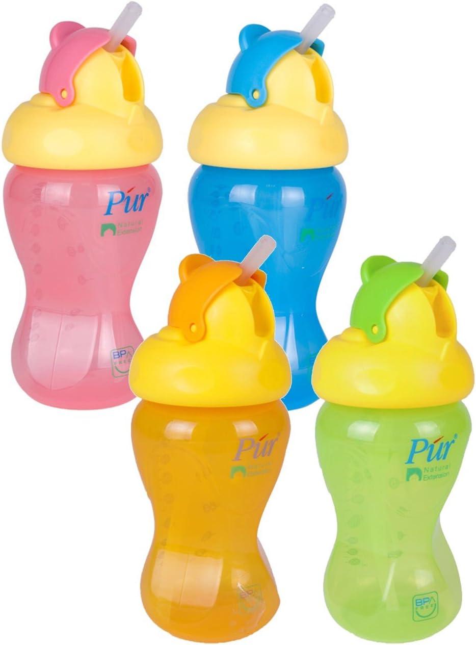 Vasos con boquilla Planet Baby 90057