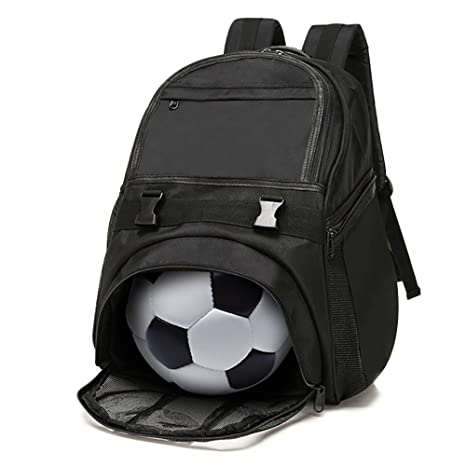 fc9d8a227e6e Amazon.com   Lucky Gourd Waterproof Oxford Soccer Backpack with ...