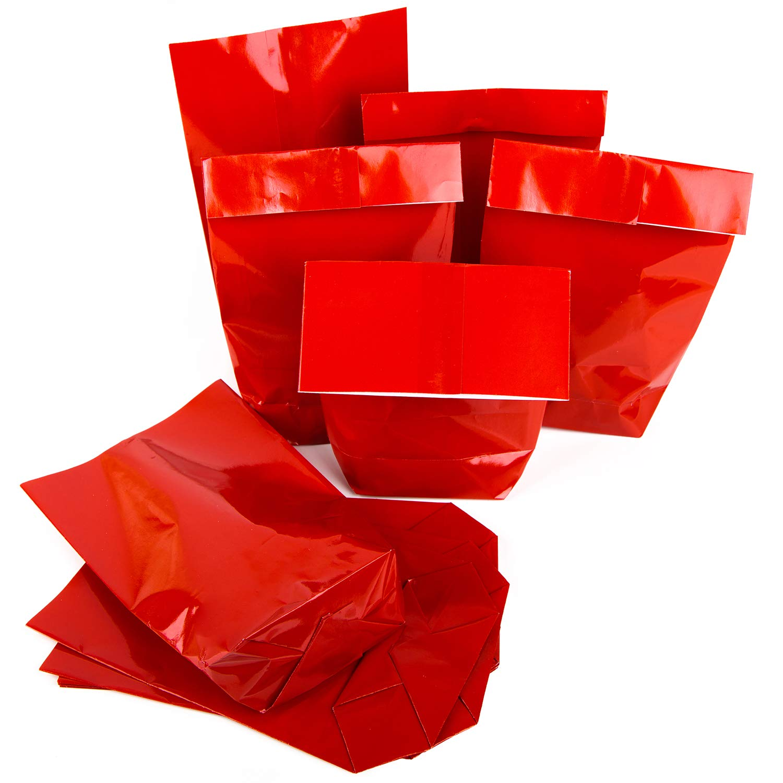 14 x 22 x 5,5 cm colore rosso 25 pezzi rot Sacchetti di carta per regali di Natale