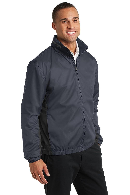 J330 Port Authority mens Core Colorblock Wind Jacket