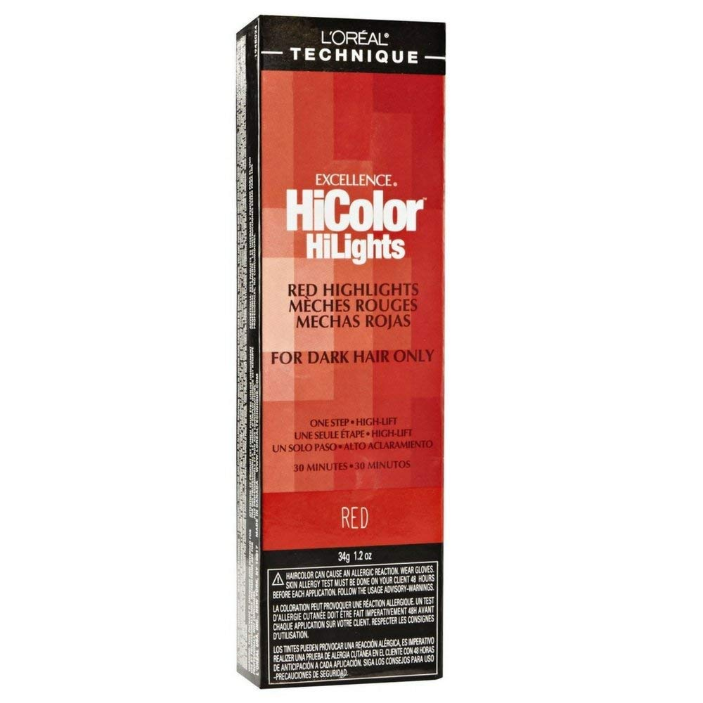 L'Oreal Excellence HiColor Red 1.2 oz (Pack of 2)