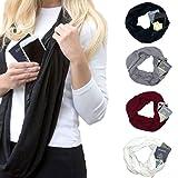 Women's Soft Blanket Scarf Stylish Cozy Tartan