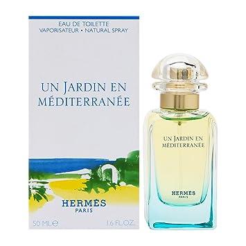91aae74e84c Amazon.com   Un Jardin En Mediterranee By Hermes For Women. Eau De Toilette  Spray 1.6 Oz   50 Ml   Beauty