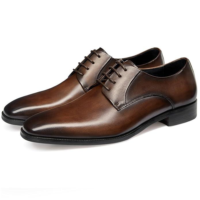 Amazon.com: GIFENNSE - Zapatos Oxford de vestir para hombre ...