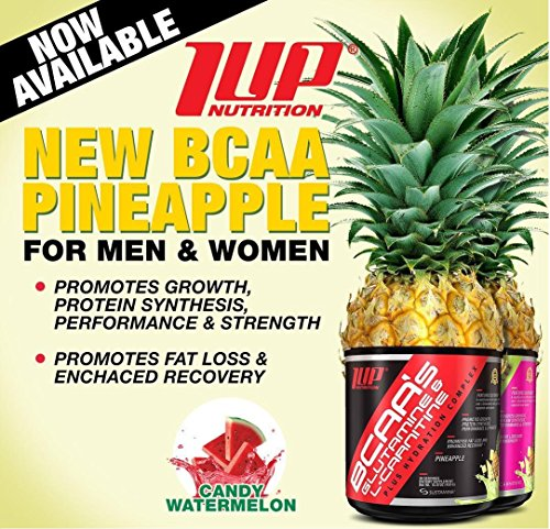 BCAA'S GLUTAMINE and Glutamine & Joint Support Plus Hydration Complex PINEAPPLE 30 servings. by 1 up nutrition