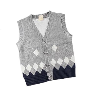 Herbst Und Winter Kinder Pullover Baby ärmellose Weste Baumwolle ...