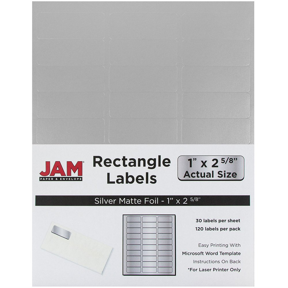 Amazon.com : JAM Paper Mailing Address Labels - Small - 1\