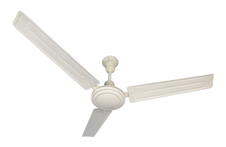 Singer Aerostar Solo 390 RPM Ceiling Fan (Ivory)
