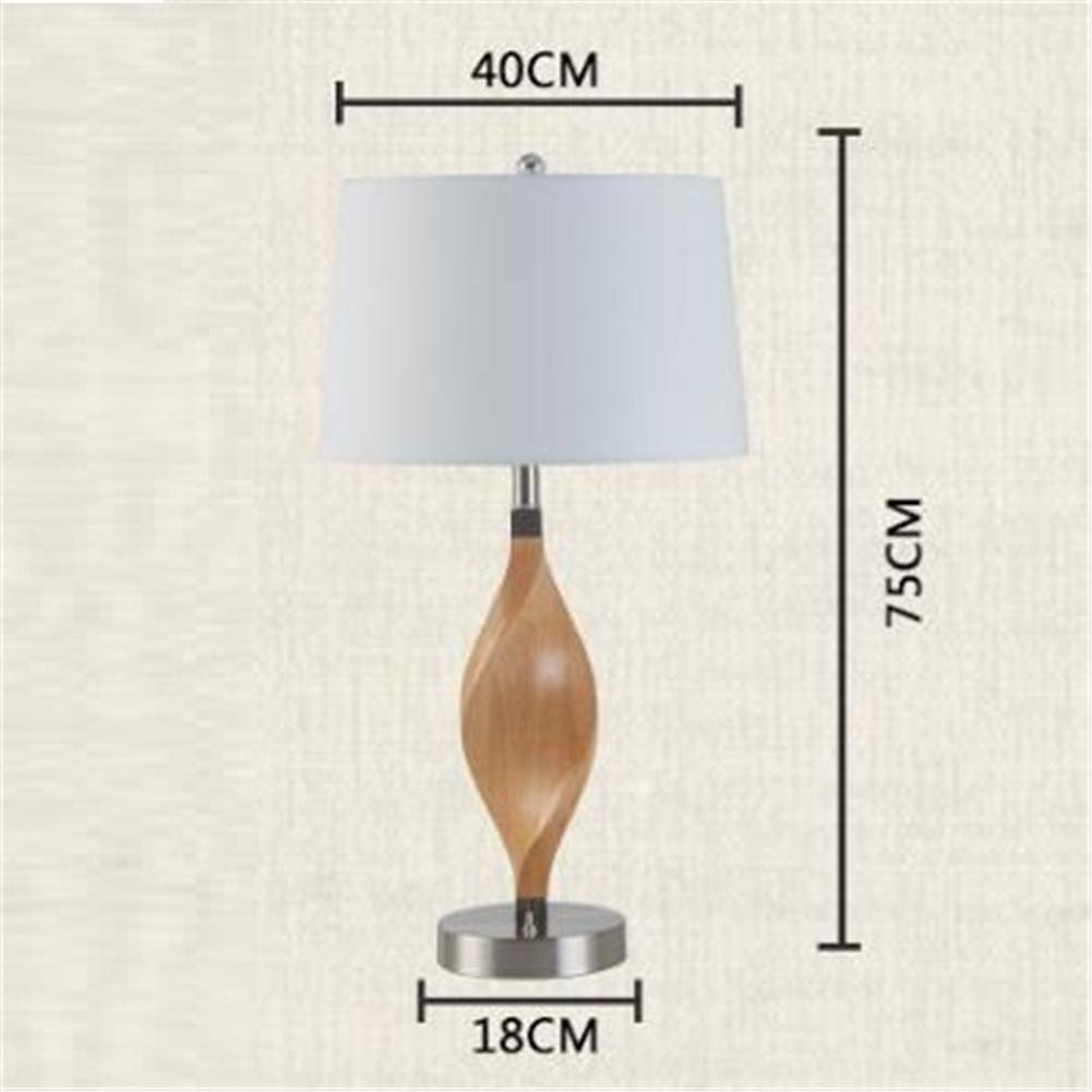 DHXY Modern Desk Lamp Bedside Lamp Minimalist Chinese Style ...