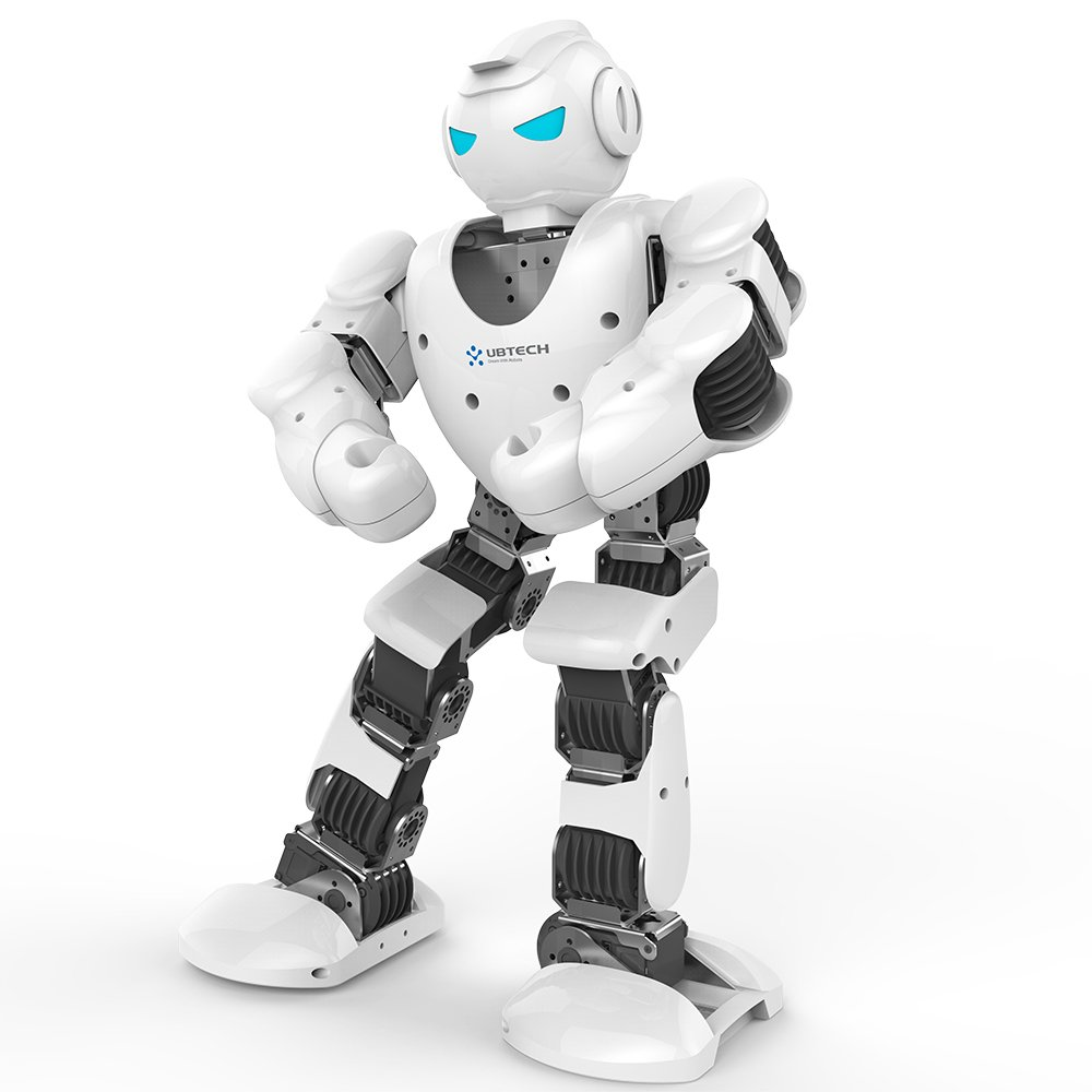 Ubtech Alpha 1s Intelligent Humanoid Robotic White Metal Detector Robot With Android Remote Control Kits Toys Games