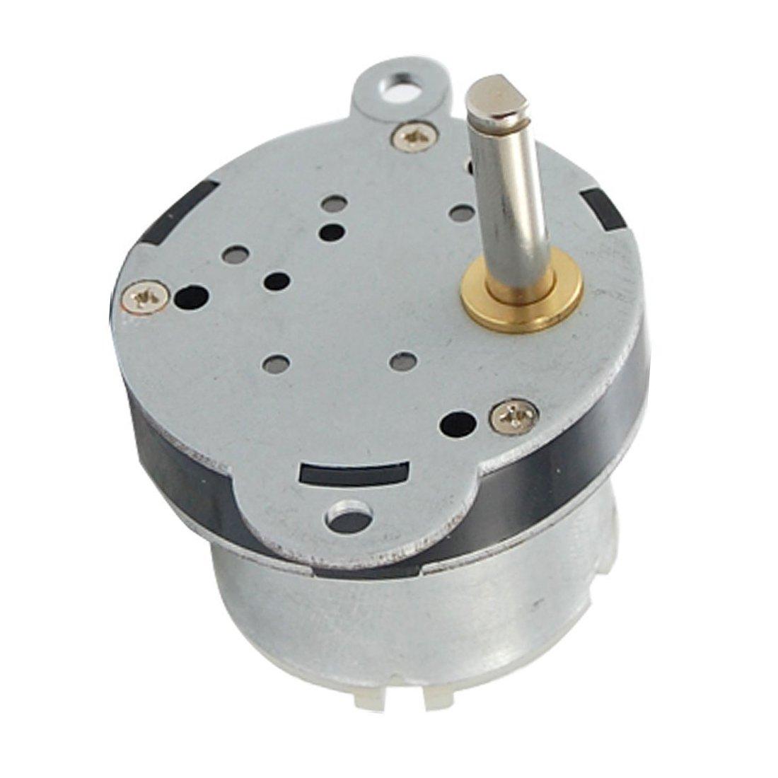 Yohii 7RPM DC 12V High Torque Electric DC Gear Box Motor Speed Reducer 5mm Dia Output Shaft for Robot
