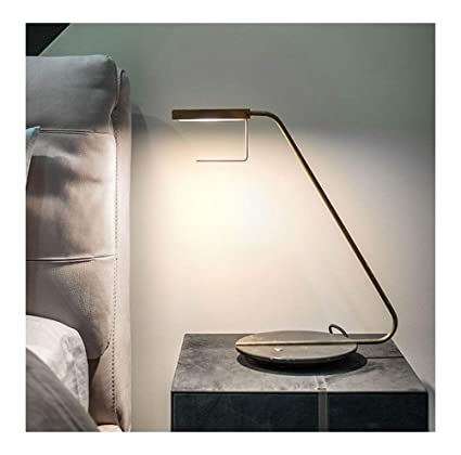 Amazon.com: PPWAN Table Lamp Work Learning Lamp Modern Metal Desk ...